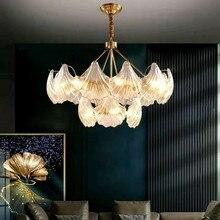 Современный Креативный Индивидуальный Простой E14 Лампа Подвеска Лампа Nordic Медь Свет Роскошь Подвеска Свет Для Столовая Комната Гостиная Комната