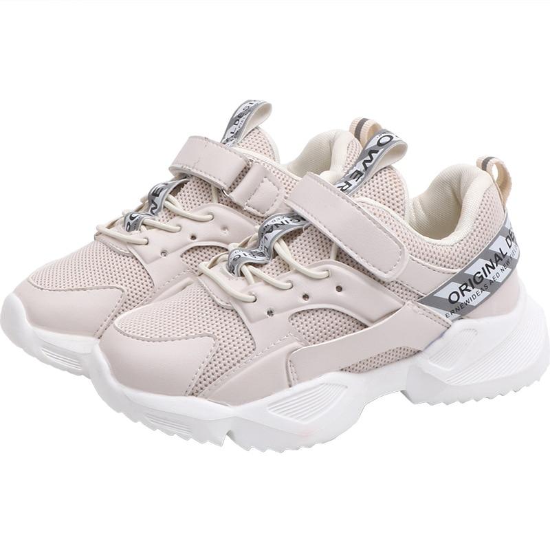 Enfants chaussures 2020 garçons blanc chaussures filles casual en cuir baskets enfants respirant course enfant en bas âge chaussures de Sport 8 9 10 11 12 ans