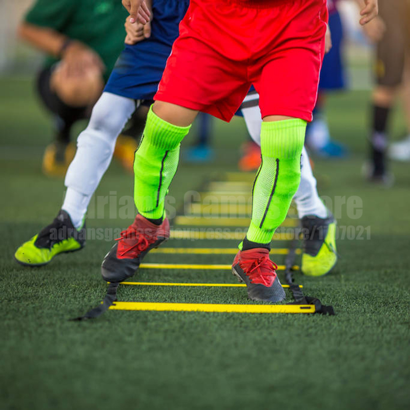 4/6/8/10/12/16/20 Rungs Agility Training Ladders Soccer Speed Ladder Home Fitness Equipment Football Training Stairs