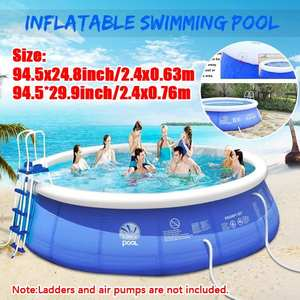 Play Pool Bath-Tub Swimming-Pool Water-Sports Kids Inflatable Family Children Portable
