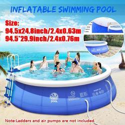 Новый летний водный спортивный детский надувной плавательный бассейн ПВХ Портативный плавательный семейный игровой бассейн Детская ванна...