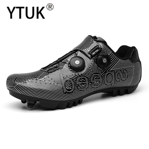 YTUK Professional Road Bike Cycling Shoes Waterproof MTB Cycling Self-Locking Shoes Athletic Bicycle Shoes Sapatilha Ciclismo