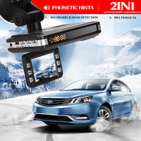 Car Speed Laser Car DVR Rocorder Durable Car Camera Radar G Sensor 360 Drgrees 720P 2 in 1