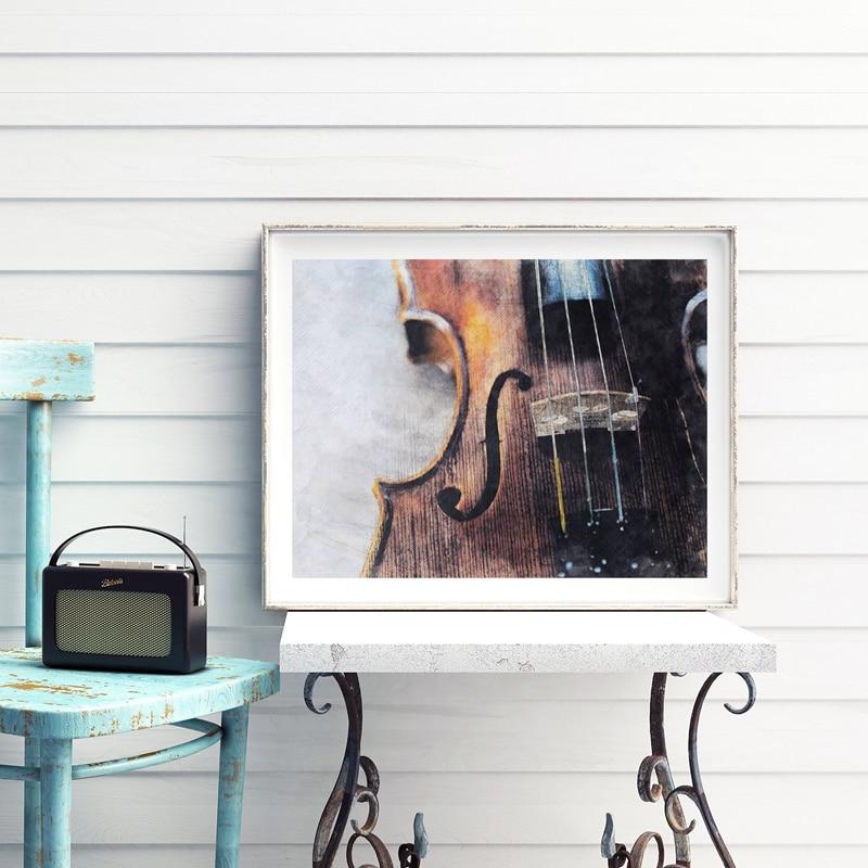 Violin Canvas Art Prints