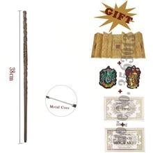 Волшебная палочка Гермиона харр Рон с металлическим сердечником волшебная палочка с картой мараудера 2 билета символы гриффиндо слизерии в...
