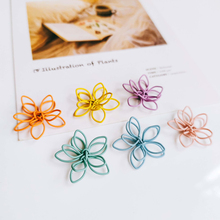 Wire Earring Accessories Color Metal Pendant Eardrop Components Necklace Charms Diy Making Material Jewelry Finding 8pcs geometric earring accessories star metal pendant eardrop components necklace charms diy making material jewelry finding 6pcs