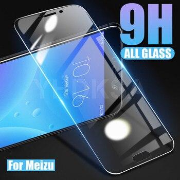 Перейти на Алиэкспресс и купить 9H закаленное стекло для Meizu C9 Pro защита экрана Meizu M8 Lite M8C Note 9 8 V8 X8 Pro 6 7 Plus Защитная стеклянная пленка
