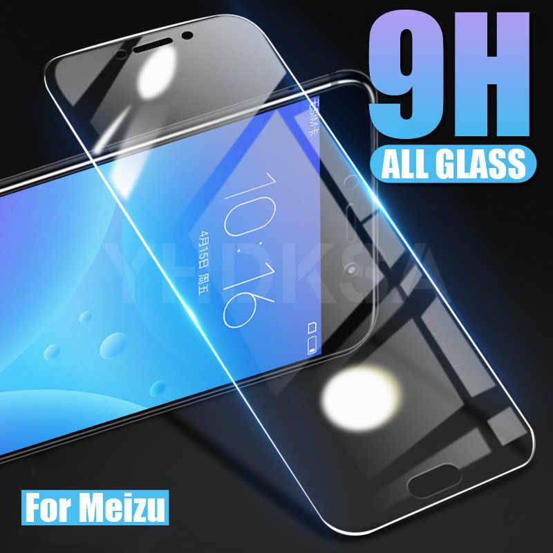 9H Kính Cường Lực Cho Meizu C9 PRO Tấm Bảo Vệ Màn Hình Meizu M8 Lite M8C Note 9 8 V8 X8 Pro 6 7 Plus An Toàn Bảo Vệ Kính Phim