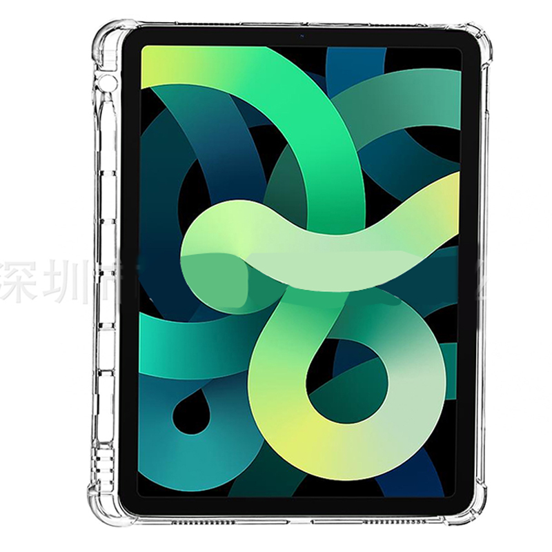 4 With 2020 Case TPU iPad 10.9 Cover Back Tablet Transparent Air Silicone For Shell Soft