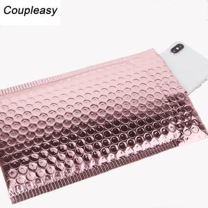 Image 4 - 50 PCS/Lot Rose Gold Plastic Bubble Envelopes Bags,  Padded Shipping Envelope, Waterproof Bubble Bags
