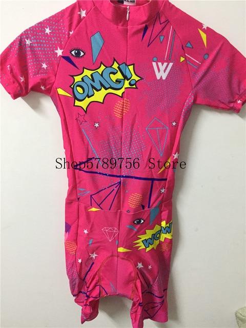 2019 pro equipe triathlon terno feminino camisa de ciclismo skinsuit macacão maillot ciclismo ropa ciclismo conjunto rosa almofada gel 4