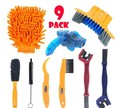 Bicycle Chain Cleaner Scrubber Brushes Mountain Bike Wash Tool Set Cycling Cleaning Kit Bicycle Repair Tools Bicycle Accessories|Łańcuchy rowerowe|Sport i rozrywka -