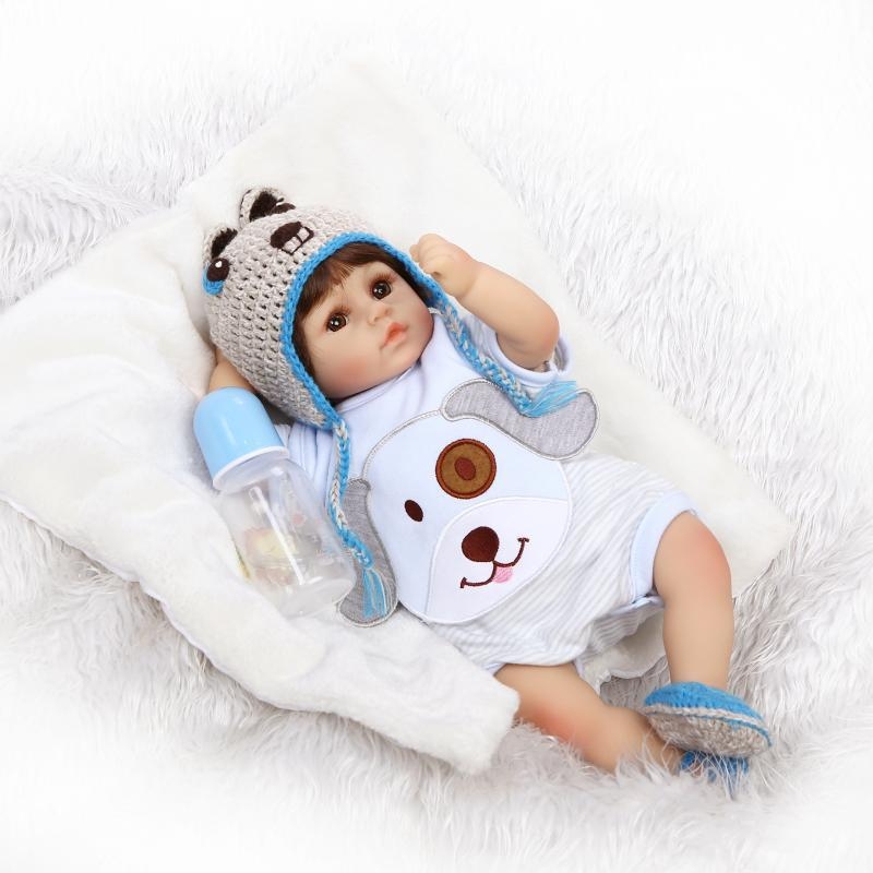 Educational Model Doll Infants Early Education Toy Play House Model Soft Silcone Doll Children Gift