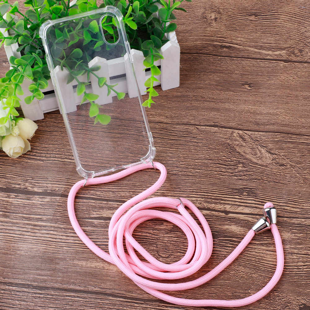 New Case Cover For Protective Phone Case Crossbody Necklace Cord Lanyards with Rope for iPhone 11 11 pro max