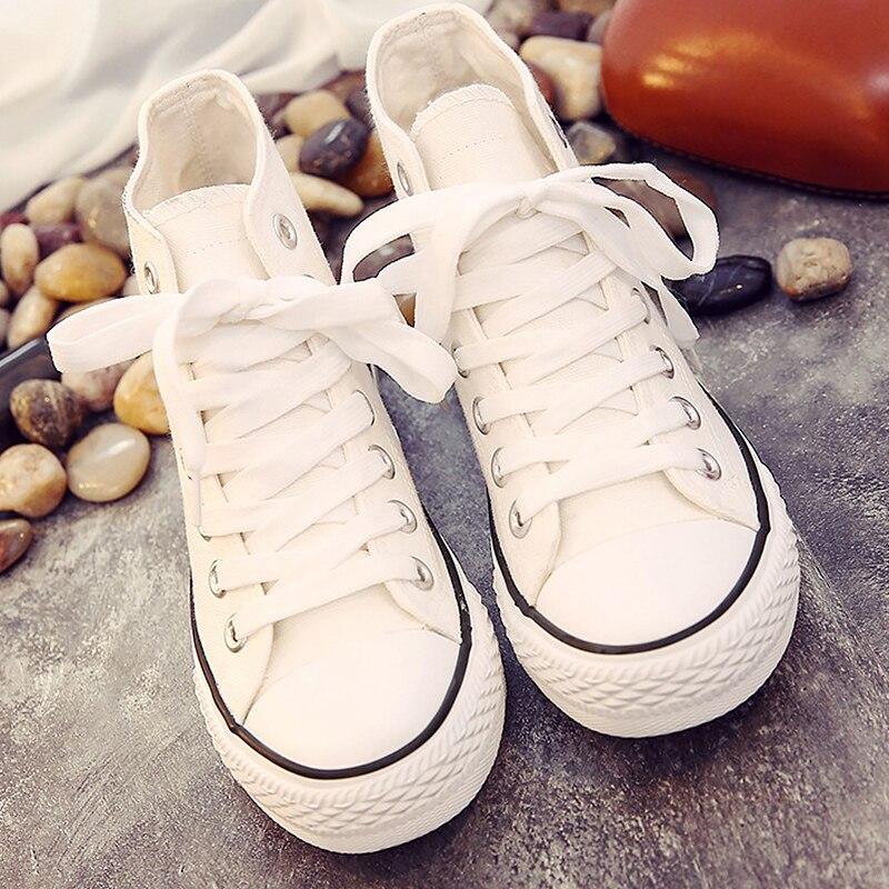 Di alta top sneakers di tela scarpe ragazzi scarpe sportive di autunno 2019 in stile classico piatto di scuola studente scarpe scarpe da tennis degli uomini