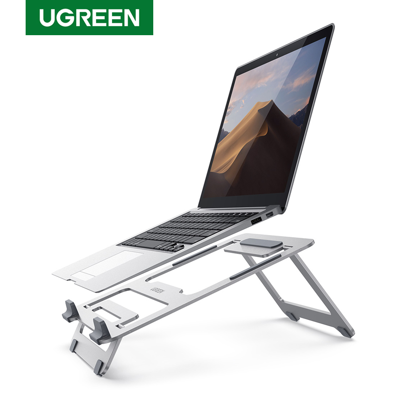 Ugreen  Laptop Stand Adjustable Laptop Computer Stand for MacBook Portable Foldable Laptop Riser Notebook Stand for 10-16 inches