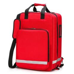 Outdoor Ehbo-kit Outdoor Sport Rode Nylon Waterdichte Cross Messenger Bag Familie Reizen Emergency Medische Zak DJJB048