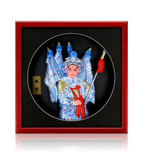 Decoration Frame Clay Sculpture Exquisite Cartoon Opera Character Furnishing Article Miniature Gift Hand Painted Classic