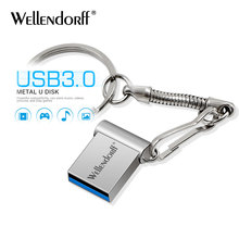 Wellendorff Mini USB 3,0 flash Drive 128GB 64GB 32GB 8 GB Metall Stift Stick Stick 128 64 32 16 8 GB Flash Speicher Cle USB Stick