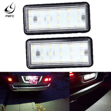 PMFC LED Car Number License Plate Light Kit White For Lexus LX470 GX470 Toyota L