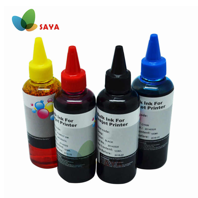 400 Ml Universal Tinta Isi Ulang Kit Untuk Epson Canon HP Saudara Lexmark Dell Kodak Inkjet Printer CISS Cartridge Tinta Printer