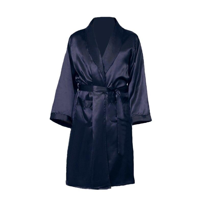 Silk Pajamas Men Fat Guy Extra Large  Pajamas Silk Loose Thin Ice Silk Bathrobe Plus Bath Blush Robes Fat Size 5XL