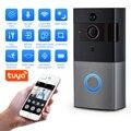Fuers Tuya APP беспроводной видео дверной звонок wifi 1080P камера домофон дверной звонок для квартиры ИК сигнализация камера безопасности ночное вид...