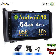 DSP Chip IPS 2din Android 10 GPS Head unit for Mercedes Benz B200 A B Class W169 W245 Viano Vito W639 Sprinter W906 BT Radio(China)