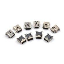 10 шт/лот микро usb коннектор 5p вставляемая пластина сиденье