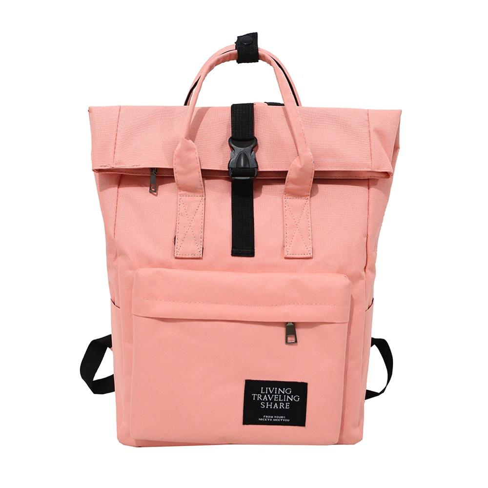 New Women Preppy Large Backpack <font><b>Canvas</b></font> Travel Backpack Male <font><b>Mochila</b></font> <font><b>Escolar</b></font> Girls Laptop Backpack School <font><b>Bags</b></font> Backpack for teens image