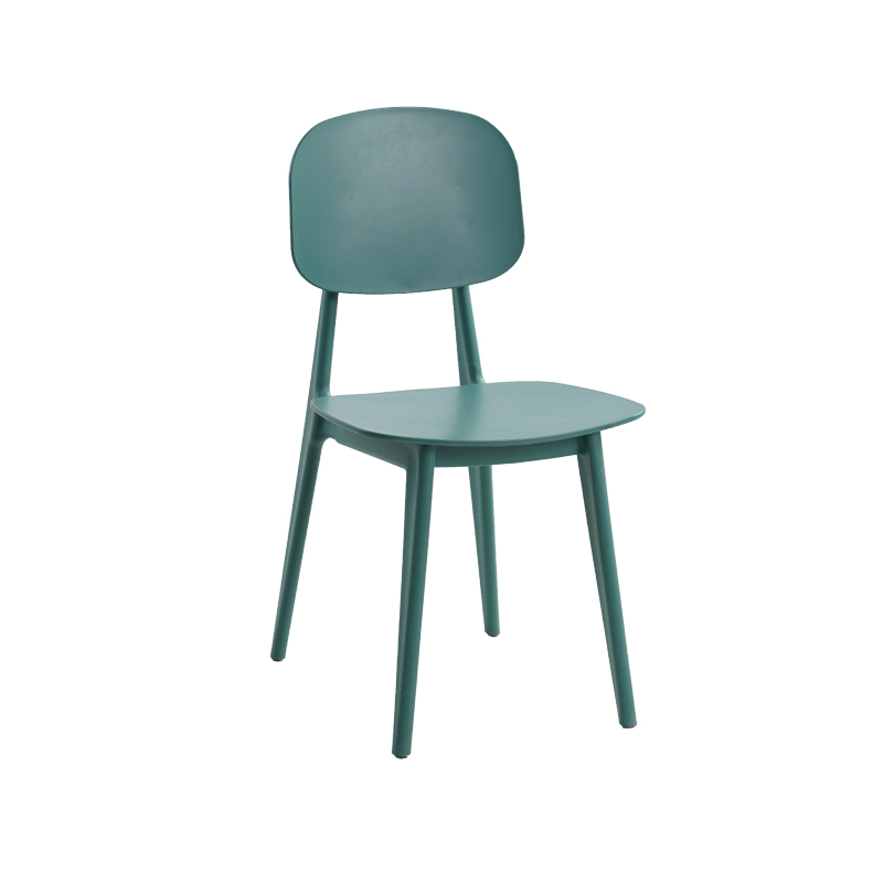 Modern Simple Creative Nordic Chair Restaurant Household Plastic Dining Chair Desk Computer Back Negotiation Leisure Chair
