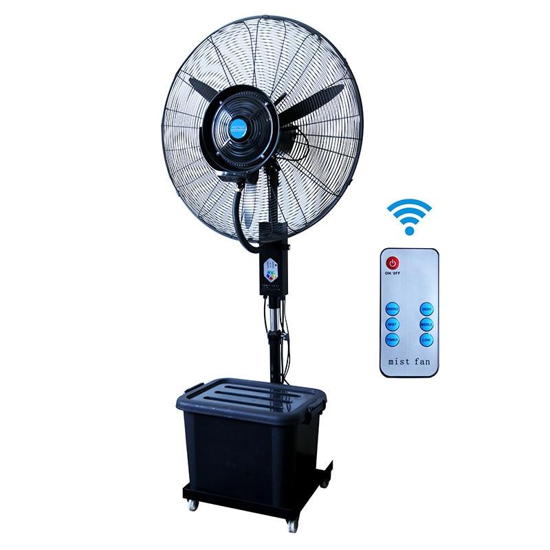SF-MF30CF07-R Remote Control Industrial Spray Fan 350W Atomizing Fan Water Mist Fan Humidifying Fan