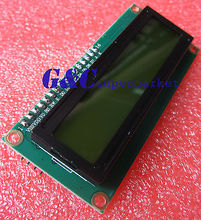 1pcs Yellow display IIC I2C TWI SPI Serial Interface 1602 LCD Module diy electronics i2c iic lcd 1602 arm yellow green display module for arduino raspberry pi avr arm page 3