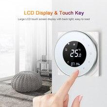 Termostato de calefacción eléctrica programable con WiFi, Control por voz Compatible con Amazon Google