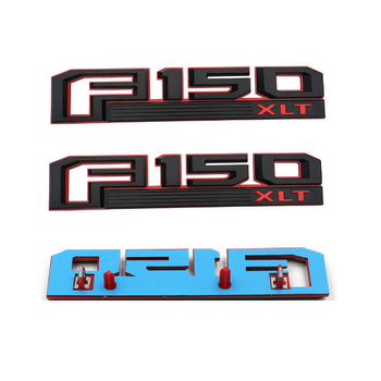 Stickers 3d For F150 XLT Retrofit Sticker F150 Logo ABS Car Body Side Logo Stickers Price for Pairs
