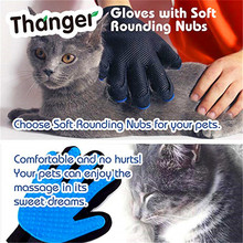 Glove Hair-Remover Animal-Supplies Accessoies Cat Massage-Brush Comb Grooming Pet-Hair