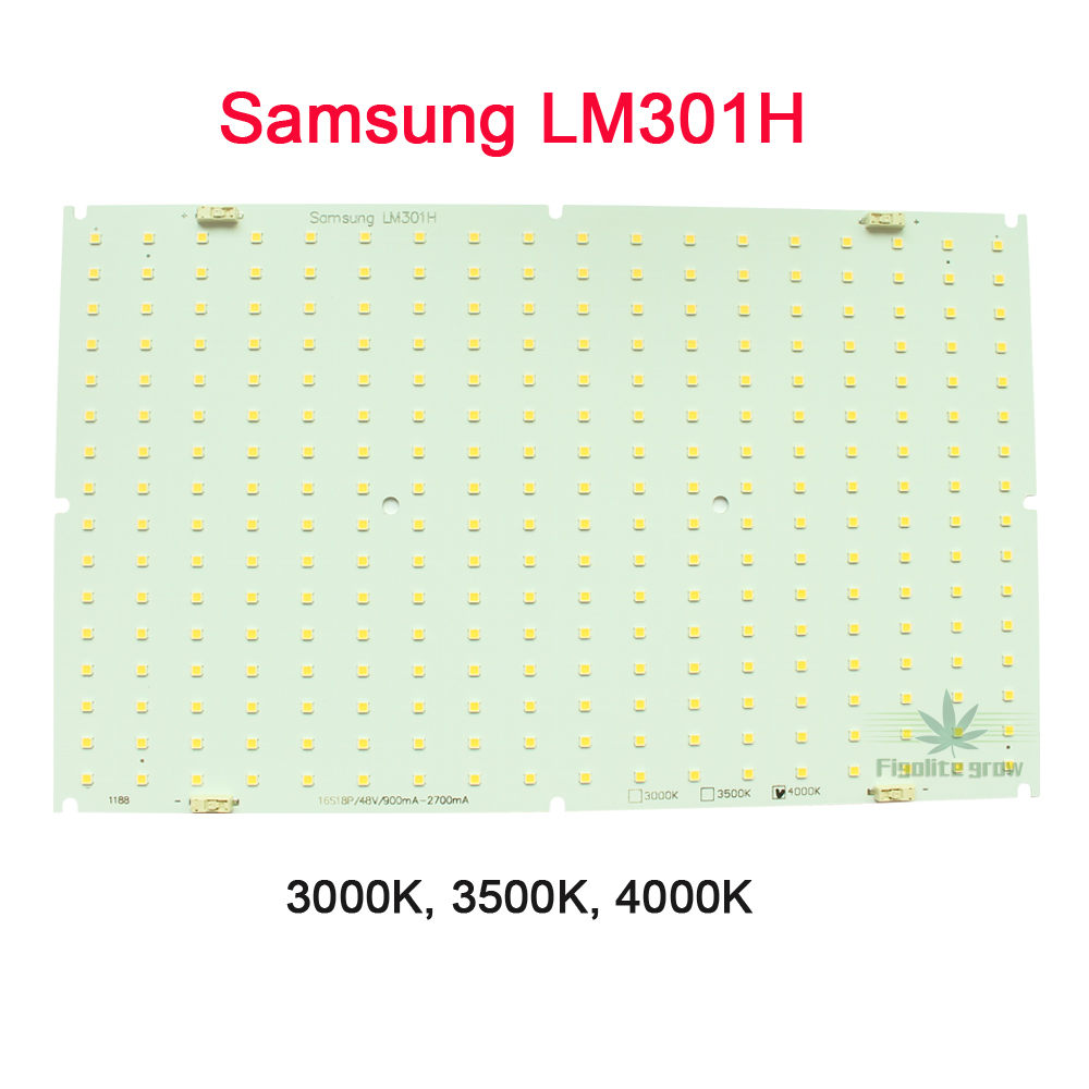 4pcs/lot High Lumen Samsung LM301H QB288 Quantum Tech V3 LED Board 3000K 3500K Mix660nm UV IR, No Driver, No Heat Sink