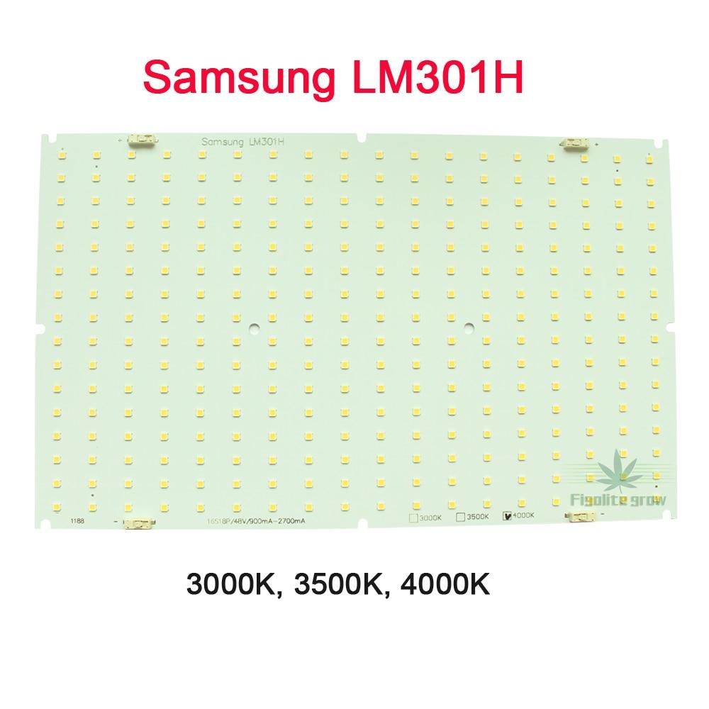 4pcs/lot High Lumen Samsung LM301H QB288 Quantum Tech V3 LED Board 3000K 3500K Mix660nm UV IR, No Driver, No Heat Sink