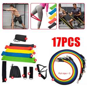 Rubber Expander Pull-Rope Elastic-Bands Yoga-Tubes Exercise Training Fitness Crossfit