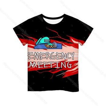 Cartoon Tee  Baby Kids Boys Girls Children Short Sleeves Summer Clothing Fashion 3d Print Toddler Camiseta 7