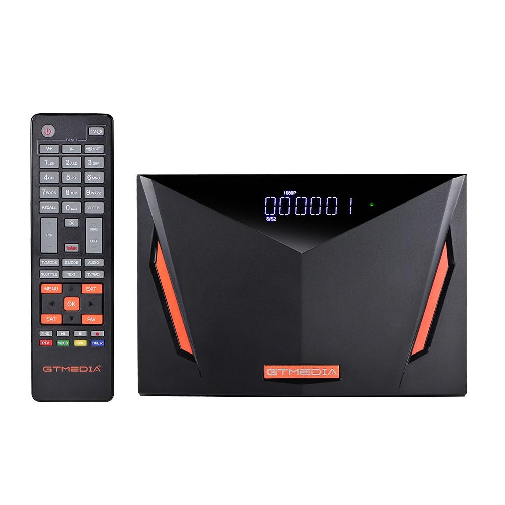 Новый GTMEDIA V8 UHD 4K Встроенный 2,4G WI-FI-цифра спутниковый телевизионный ресивер Youtube TV box DVB-S/S2/S2X + T/T2/кабель/ATSC-C/ISDBT лучше V8 Nova