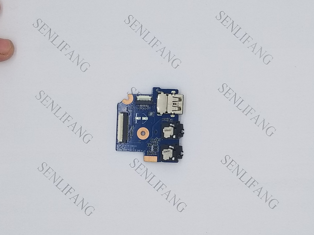 Free Shipping Original Laptop USB Interface Board For HP Pavilion 15-AU USB Audio Port Board DAG38DTBCC0
