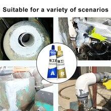 65/100g Industrial Heat Resistance Cold Weld Metal Repair Paste-Metal Scratch Repair Double Pipe Casting Agent 3