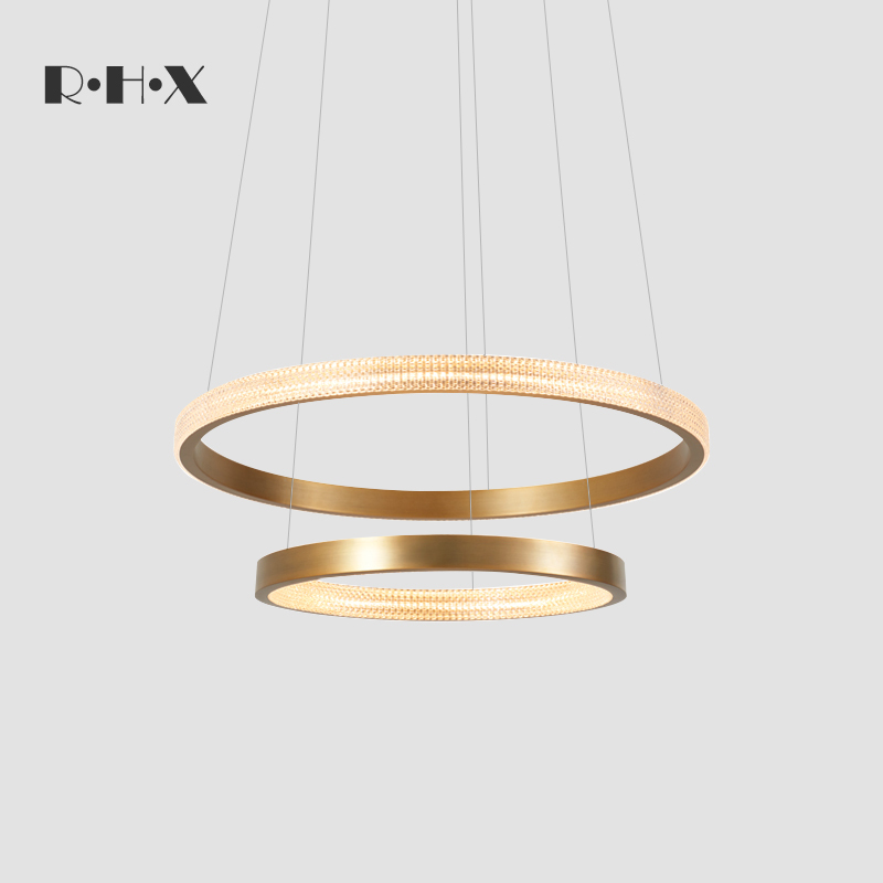Modern 2019 A Living Room Lamp Restaurant A Chandelier Annular Household Minimalist Arts Northern Europe Circle A Chandelier