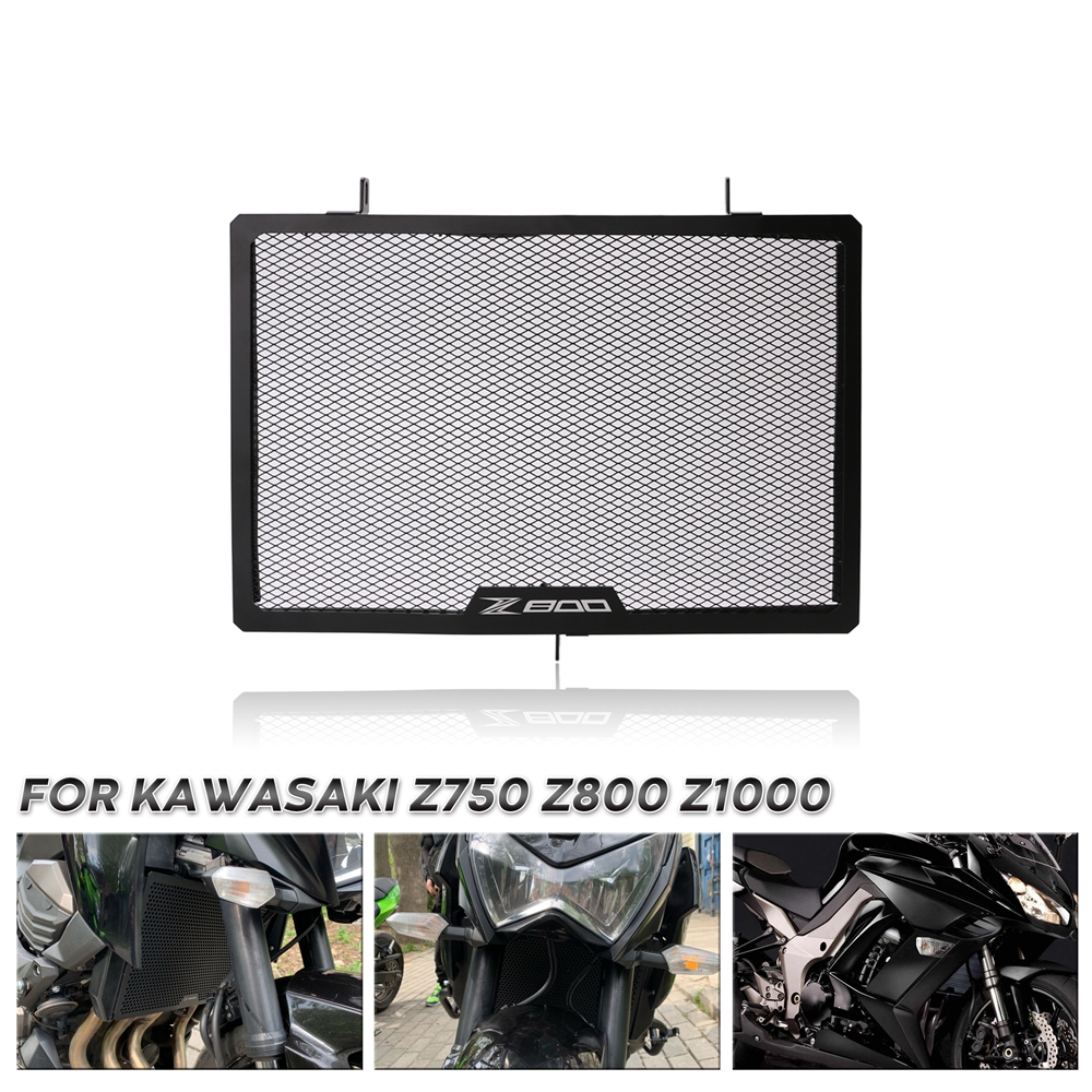 Motorcycle Radiator Side Guard Grill Grille Cover Protector For KAWASAKI Z750 <font><b>Z1000</b></font> 2007-2016 Z800 2013 2014 <font><b>2015</b></font> 2016 image