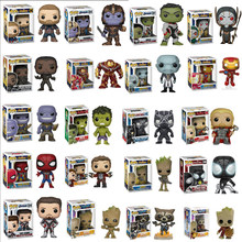 FUNKO POP Marvel Avengers Stan Iron Man Thor Figure PVC Action Figure Collection Model Toys for Kids Birthday Gift Christmas(China)