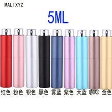 Frasco de perfume recarregável portátil 5ml 20ml, spray cosmético vazio com bomba de perfume para viagem nova varal