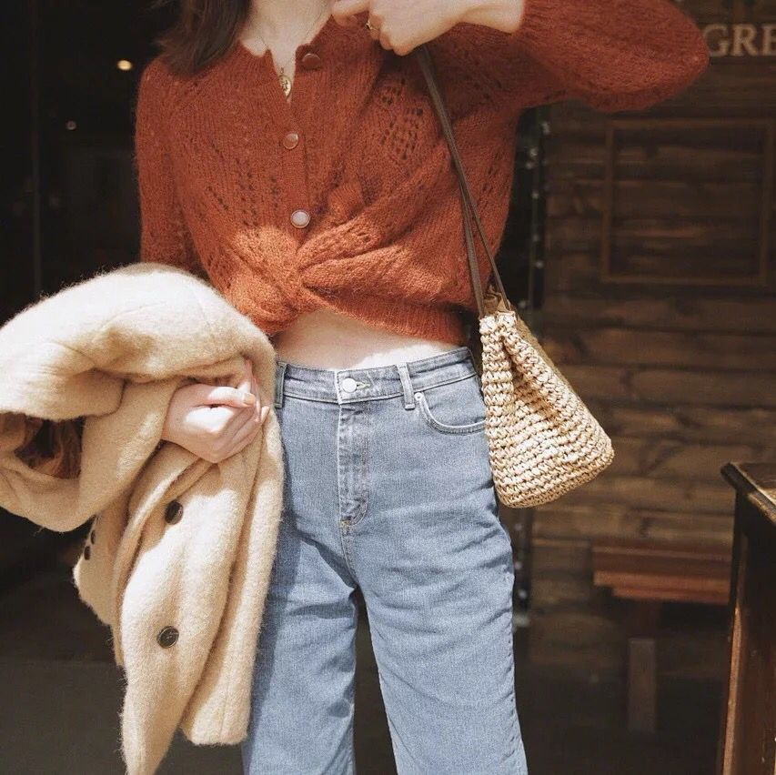 Mohair punto cárdigan suéter mujer 2019 otoño Simple suave recto inferior ropa suéter moda Cárdigan para mujer-in Caquetas de punto from Ropa de mujer    2