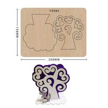 Wood Moulds Die Cut Scrapbook DIY Handmade Crafts Making Decor Supplies Dies Template 1