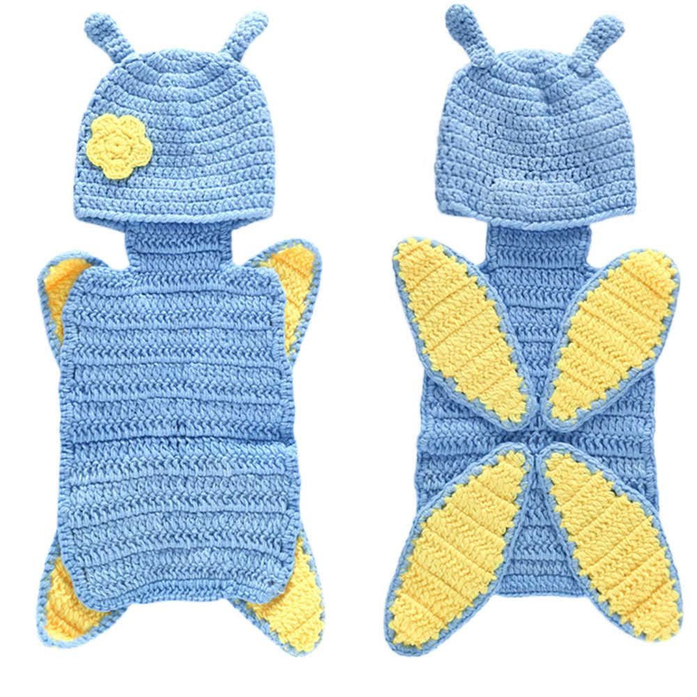 신생아 사진 의류 사진 소품 후드 담요 접합 컬러 커버 니트 키즈 러블리 신생아 복장